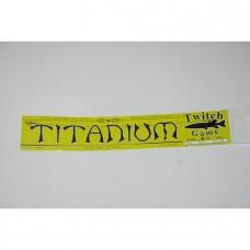Titaninis  pavadėlis  10kg - 25cm
